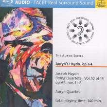 Joseph Haydn (1732-1809): Streichquartette Nr.63-68 (op.64 Nr.1-6), Blu-ray Audio