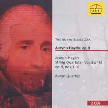 Joseph Haydn (1732-1809): Streichquartette Nr.19-24 (op.9 Nr.1-6), 2 CDs