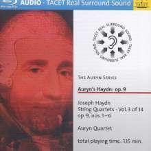 Joseph Haydn (1732-1809): Streichquartette Nr.19-24 (op.9 Nr.1-6), Blu-ray Audio