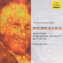 Joseph Haydn (1732-1809): Streichquartette Nr.43,81-83, CD