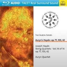 Joseph Haydn (1732-1809): Streichquartette Nr.43,81-83, Blu-ray Audio