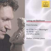 Ludwig van Beethoven (1770-1827): Klaviersonaten Nr.13,14,19,20, CD