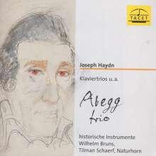 Joseph Haydn (1732-1809): Klaviertrios H15 Nr.18,23,28, CD