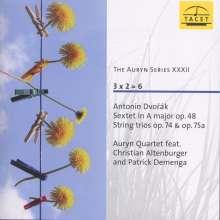 Antonin Dvorak (1841-1904): Terzetti für 2 Violinen & Viola opp.74 & 75a, CD