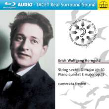 Erich Wolfgang Korngold (1897-1957): Sextett für Streicher op.10, Blu-ray Audio