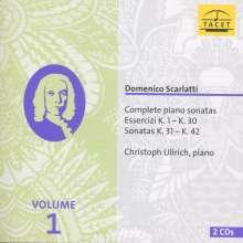 Domenico Scarlatti (1685-1757): Sämtliche Klaviersonaten Vol.1, 2 CDs