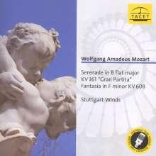 """Wolfgang Amadeus Mozart (1756-1791): Serenade Nr.10 """"Gran Partita"""", CD"""