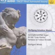 "Wolfgang Amadeus Mozart (1756-1791): Serenade Nr.10 ""Gran Partita"", Blu-ray Audio"