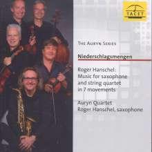 Auryn Quartett - Niederschlagsmengen, CD