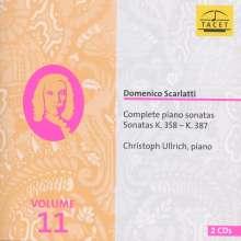 Domenico Scarlatti (1685-1757): Sämtliche Klaviersonaten Vol.11, 2 CDs