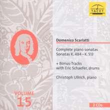 Domenico Scarlatti (1685-1757): Sämtliche Klaviersonaten Vol.15, 2 CDs