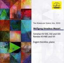 Wolfgang Amadeus Mozart (1756-1791): Klaviersonaten Nr.10,12,13, CD