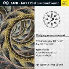 Wolfgang Amadeus Mozart (1756-1791): Symphonien Nr.35 & 36, SACD