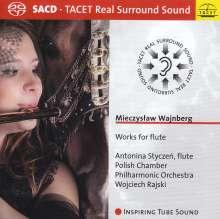 Mieczyslaw Weinberg (1919-1996): Flötenkonzerte Nr.1 & 2 (op.75 & op.148), SACD