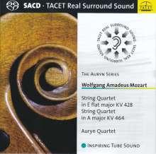 Wolfgang Amadeus Mozart (1756-1791): Streichquartette Nr.16 & 18, SACD