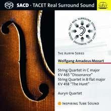Wolfgang Amadeus Mozart (1756-1791): Streichquartette Nr.17 & 19, Super Audio CD