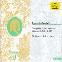 Domenico Scarlatti (1685-1757): Sämtliche Klaviersonaten Vol.3, CD