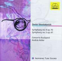 Dmitri Schostakowitsch (1906-1975): Symphonien Nr.5 & 9, CD