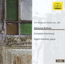 ブラームス:間奏曲全集 エフゲニー・コロリオフ(2CD)