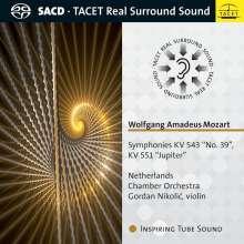 Wolfgang Amadeus Mozart (1756-1791): Symphonien Nr.39 & 41, Super Audio CD