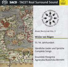 Mare Balticum Vol.3 - Wizlav von Rügen (13./14. Jahrhundert), Super Audio CD