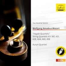 Wolfgang Amadeus Mozart (1756-1791): Streichquartette Nr.14-19, 3 CDs
