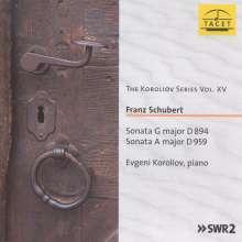 Franz Schubert (1797-1828): Klaviersonaten D.894 & 959, CD