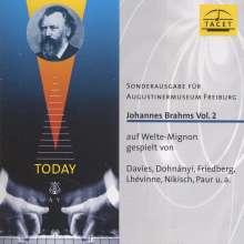 Johannes Brahms auf Welte-Mignon Vol.2, CD
