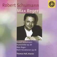 Max Reger (1873-1916): Variationen & Fuge ü.ein Bach-Thema op.81, CD