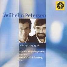 Wilhelm Petersen (1890-1957): Lieder, CD