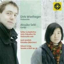 Dirk Wietheger,Cello, CD