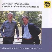 Carl Nielsen (1865-1931): Sonaten für Violine & Klavier op.9 & 35, CD
