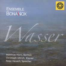 Ensemble BonaNox - Die vier Elemente: I.Wasser, CD
