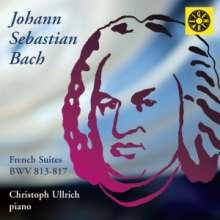 Johann Sebastian Bach (1685-1750): Französische Suiten BWV 813-817, CD