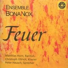 Ensemble BonaNox - Die vier Elemente: II.Feuer, CD