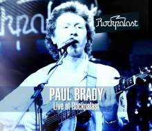 Paul Brady: Live At Rockpalast, 1 DVD und 1 CD