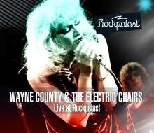 Wayne County: Live At Rockpalast 1978 (CD + DVD), CD