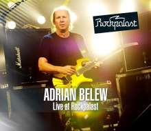 Adrian Belew: Live At Rockpalast (DVD + CD), 1 DVD und 1 CD