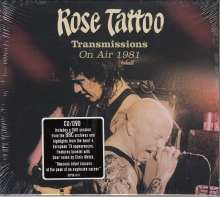 Rose Tattoo: Transmissions: On Air 1981, CD