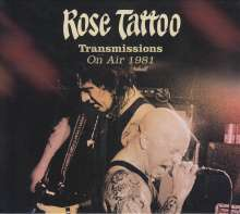 Rose Tattoo: Transmissions: On Air 1981 (180g) (Marbled Vinyl), 2 LPs