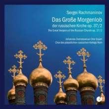 Sergej Rachmaninoff (1873-1943): Das große Morgenlob op.37,2, CD