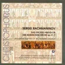 Sergej Rachmaninoff (1873-1943): Das große Abendlob op.37,1, CD