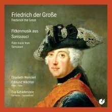 Musik in Sanssouci für 2 Flöten & Cembalo, CD
