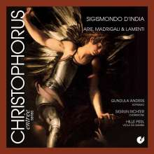 Sigismondo d'India (1582-1629): Arien,Madrigale & Lamenti, CD