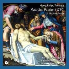 Georg Philipp Telemann (1681-1767): Matthäus-Passion (1730), 2 CDs