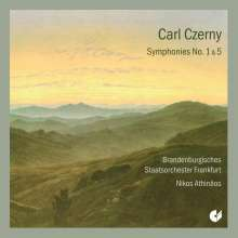 Carl Czerny (1791-1857): Symphonien Nr.1 & 5, CD