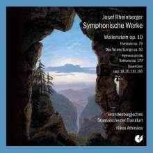 Josef Rheinberger (1839-1901): Symphonische Werke, 2 CDs