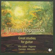 Tilman Hoppstock - Great studies for Guitar, CD