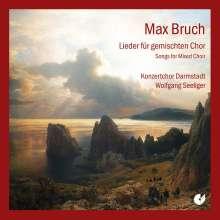 Max Bruch (1838-1920): Lieder für gemischten Chor, 2 CDs