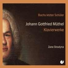 Johann Gottfried Müthel (1728-1788): Klavierwerke, CD